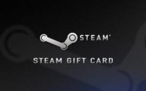 گیفت کارت استیم steam gift card