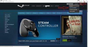 نحوه استفاده از گیفت کارت استیم Steam 1