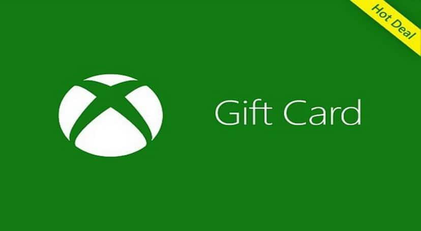 گیفت کارت یک ۱ دلاری ایکس باکس Xbox